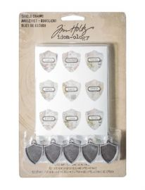 Tim Holtz® Idea-Ology™ - Shield Charms - TH93212